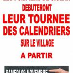 CALENDRIERS POMPIERS